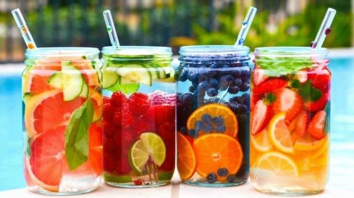 Struggling To Stay Hydrated? 5 Water Infused Recipes That Make Drinking Water Fun
