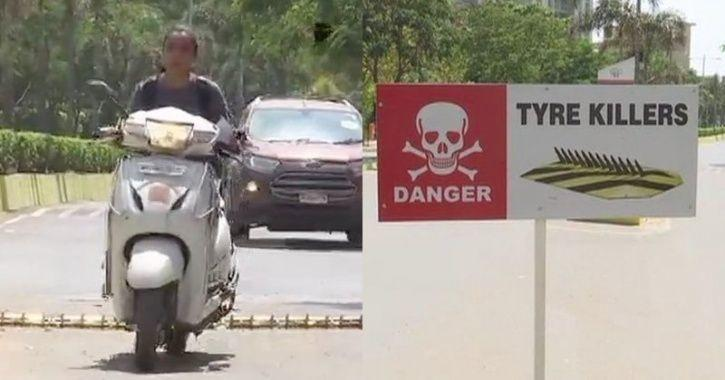રોંગસાઈડમાં વાહન ચલાવનારાને પાઠ ભણાવશે 'ટાયર કીલર'