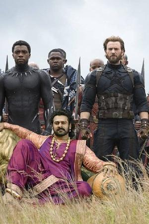 A picture of Baahubali star Prabhas in Avengers Infinity War