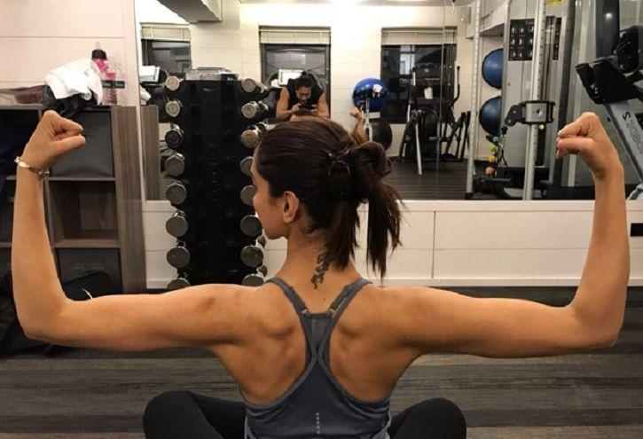 This Is What Deepika Padukone's Modified 'RK' Tattoo Looks ...