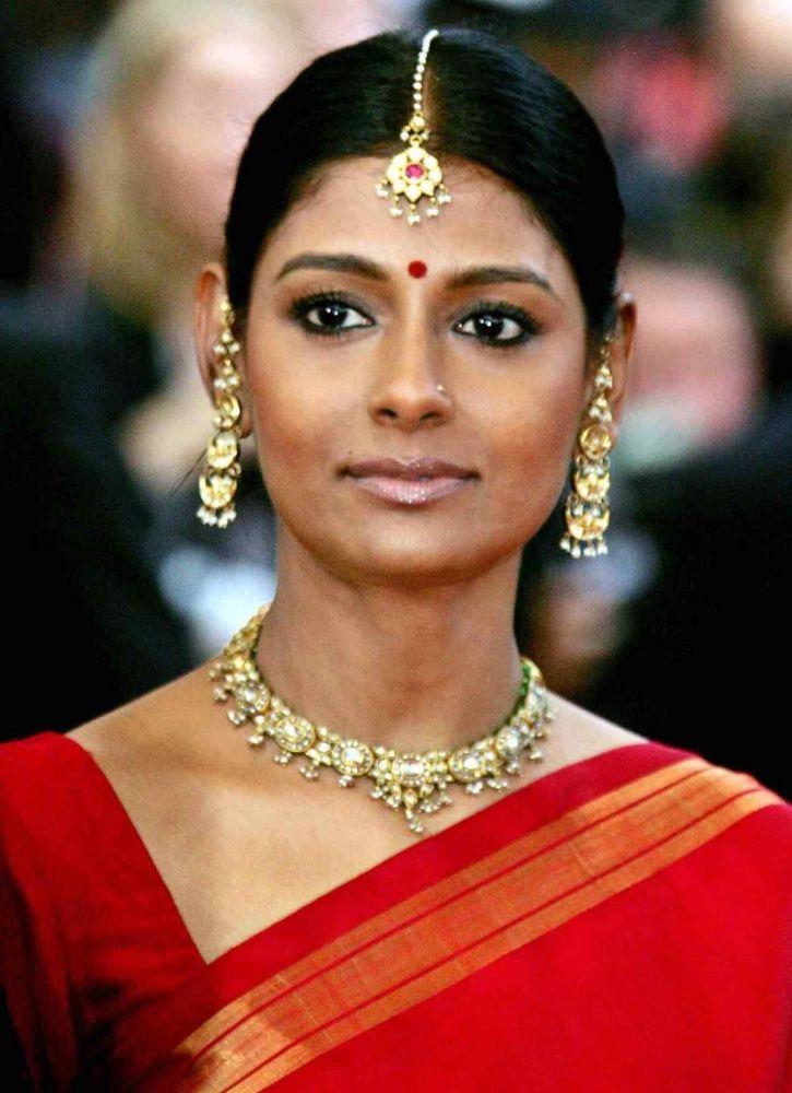 A picture of Nandita Das at Cannes Film Festival 2005.