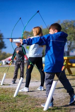 Archery is a tough sport