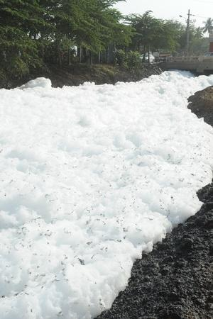 Bellandur Froth Back After Rain