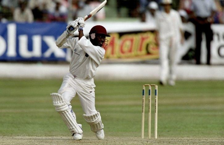 Brian Lara made 153 not out