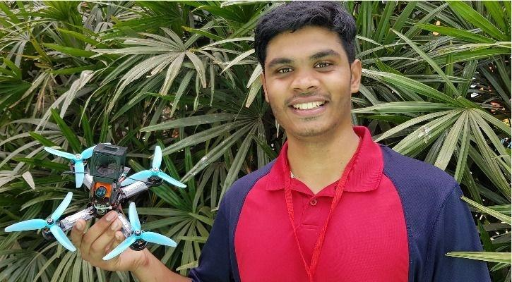 How A 22-Year-Old Won A Drone Flying Tournament, Topping
