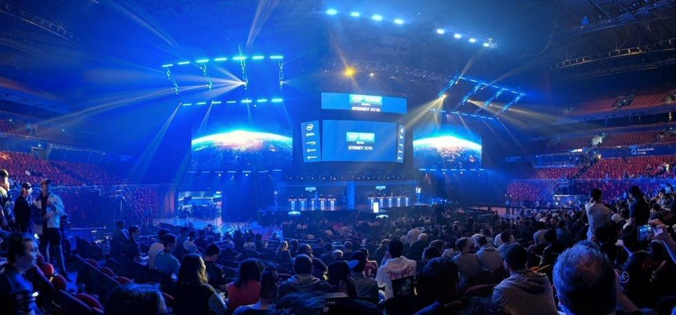 gamers at intel extreme masters esl australia