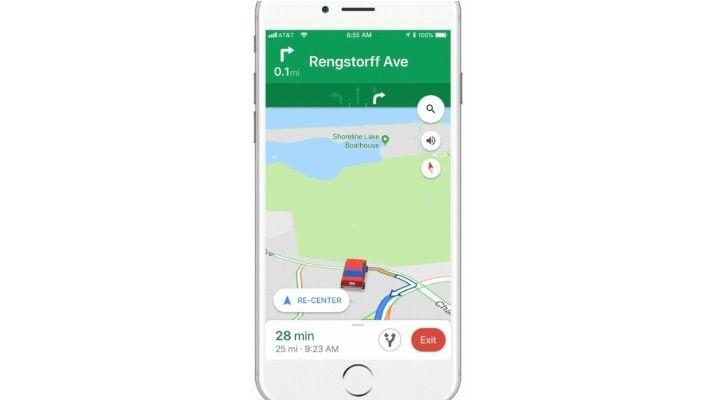Google Maps On iOS Now Has Dinky Little Cars Instead Of The Boring on