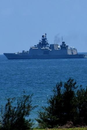 India Dispatches Warship To Maldives For Joint Surveillance