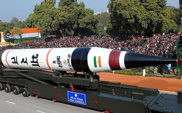 Intercontinental Ballistic Missile Agni V On Way