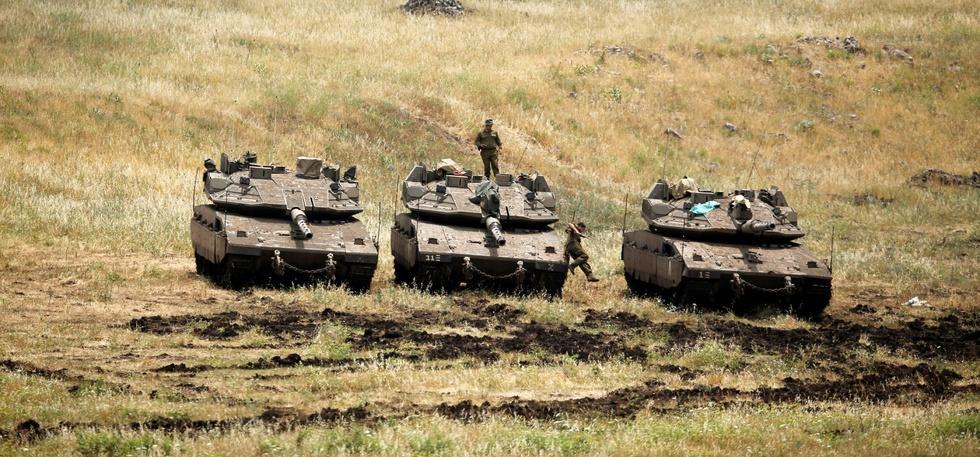 israeli rocket attack
