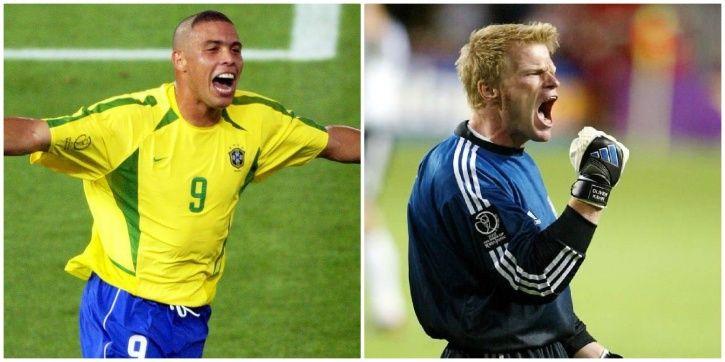 5b375985007 Ronaldo scored 2 goals in the 2002 FIFA World Cup final