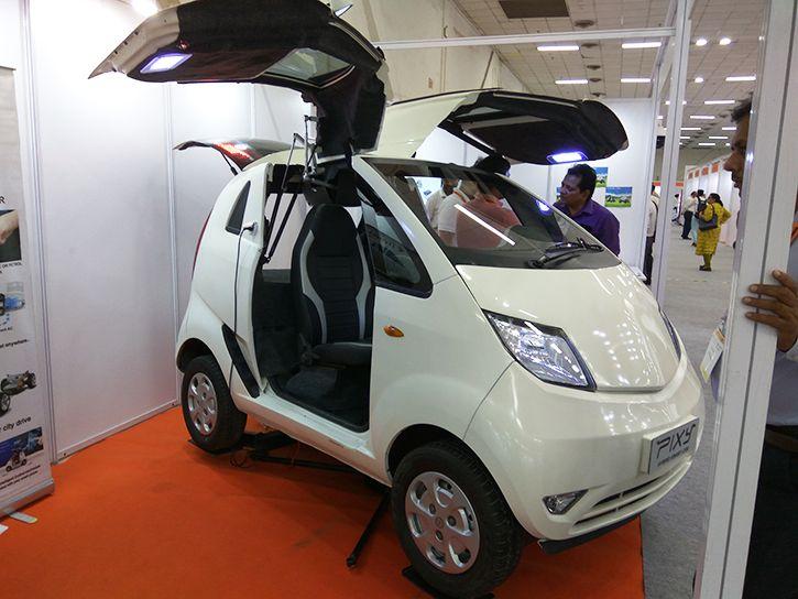 Delhi Man Converted A Tata Nano Into An Electric Hybrid That Drives