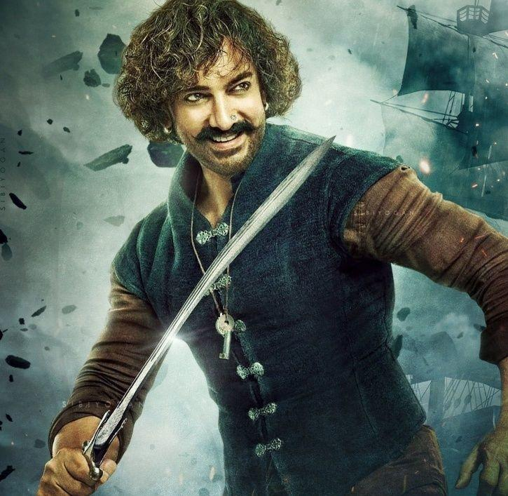 A picture of Aamir Khan from Thugs Of Hindostan.