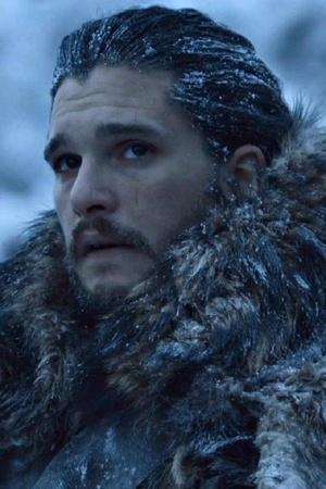 A picture of Jon Snow from teaser announcing Game of Thrones season 8 release date