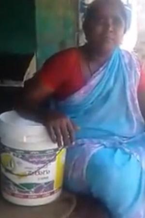 Andhra woman