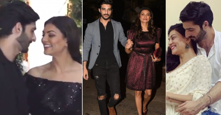 Confirming Relationship With 27-YO Rohman Shawl, Sushmita Sen Says She's Rohman-Cing Life