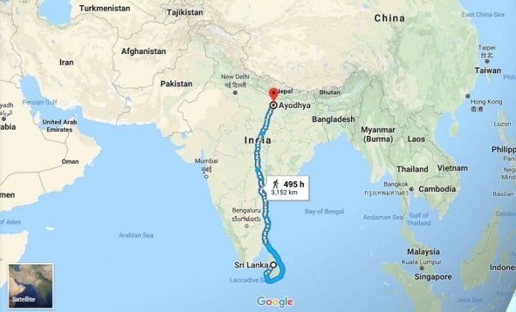 Google Maps, Lord Rama, Ramayana