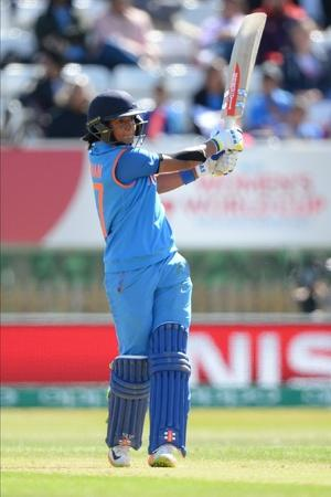 Harmanpreet was alert