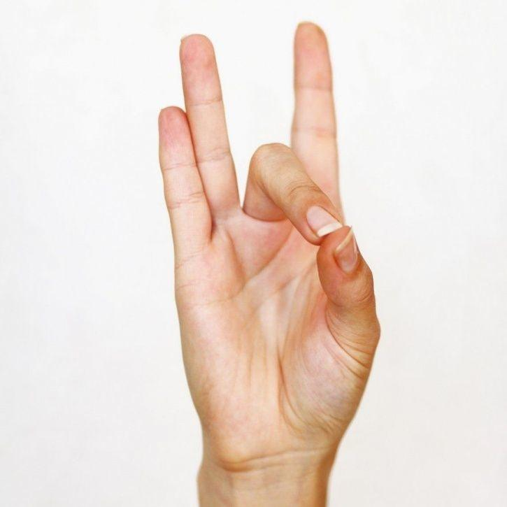 Here's How You Can Draw Positive Energy From Every Finger Using Hand Mudras