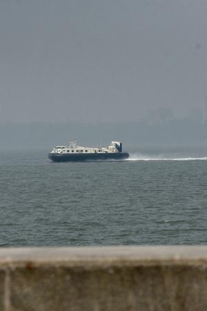 hovercraft vessels Mumbai Navi Mumbai travel time ferry passengers chennai russia