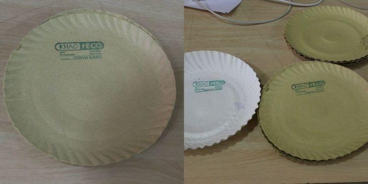 IIT Delhi, Kriya Labs, Stubble burning, cost-efficient, Khao-Feco plates, biodegradable