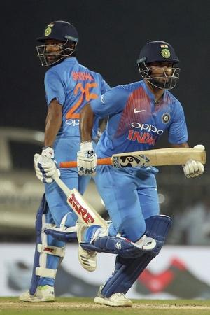 India won the T20I series vs West Indies 30