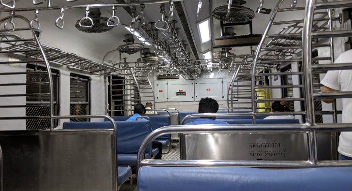 Inside a mumbai train pixel 3 xl
