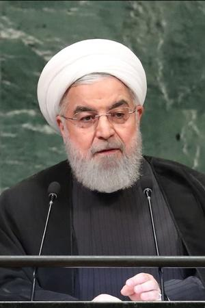 Iran President Warns Of War Situation As Sanctions Resume