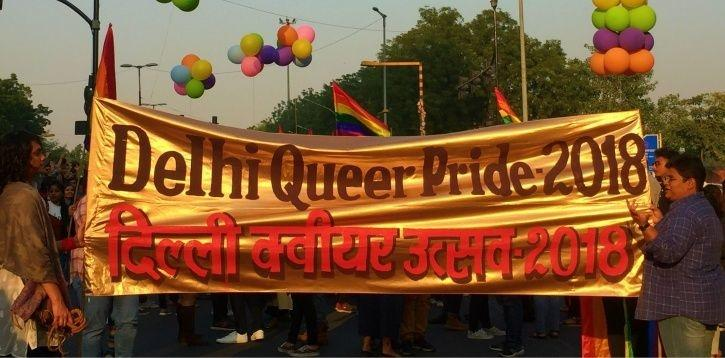 LGBT Community Celebrates Renewed Dignity At Delhi Queer Pride, First After SC Legalised Homosexuali