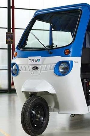 Mahindra Mahindra electric rickshaw Mahindra Treo erick Mahindra eAlfa mini Mahindra electric