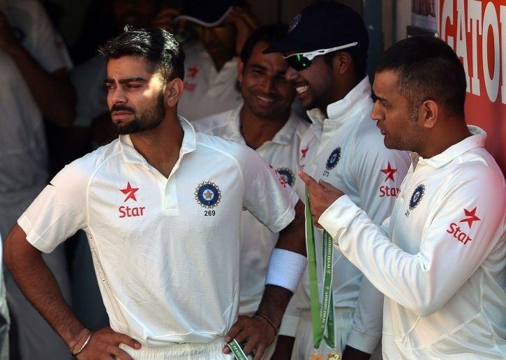 MS Dhoni had faith in Virat Kohli