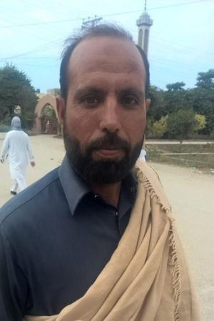 Pakistani labourer