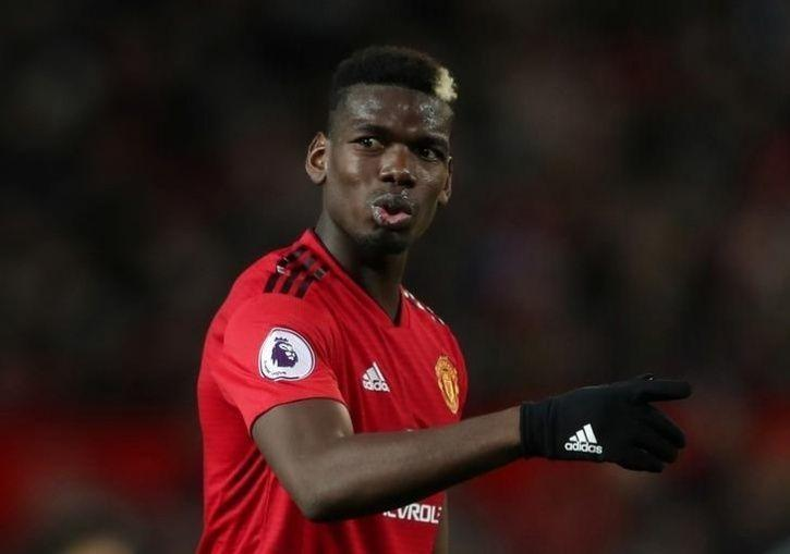Paul Pogba is happy at Manchester United