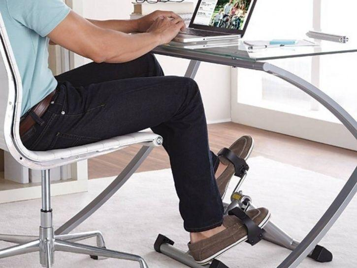 Pedalling Desks Are What We Need To Ward Off Obesity Related Diseases From Sitting Jobs