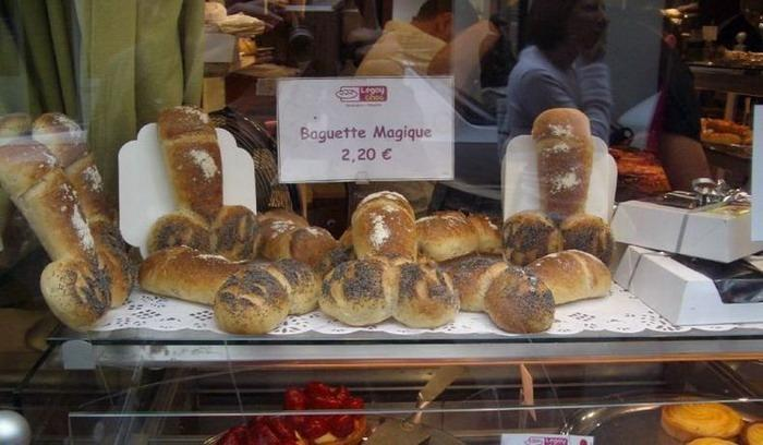penis-shaped bread