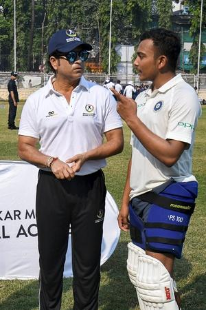 Prithvi Shaw Is Preparing For The Australian Tour
