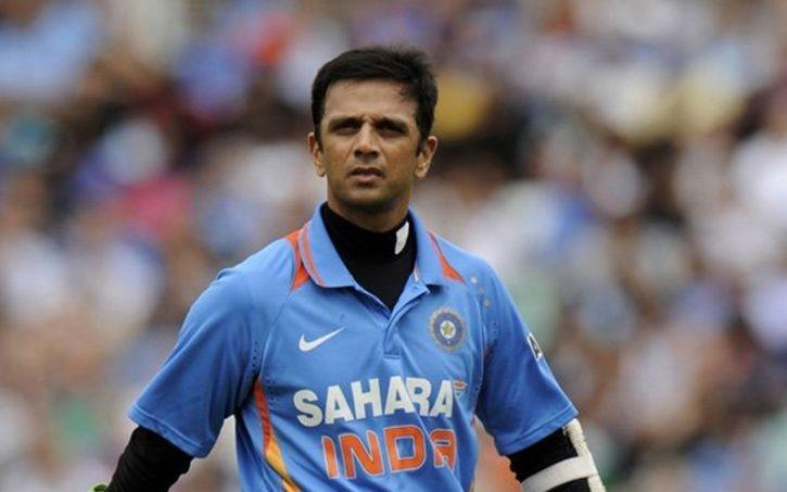 Image result for Rahul Dravid out