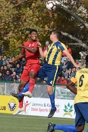 Real Kashmir Plays Out Goalless Draw