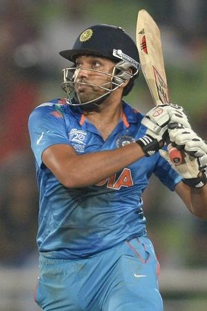 Rohit Sharma made 264