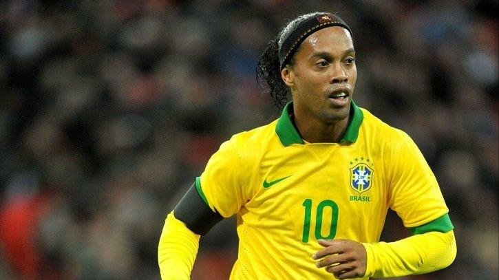 Ronaldinho was part of the side that won the 2002 FIFA World Cup