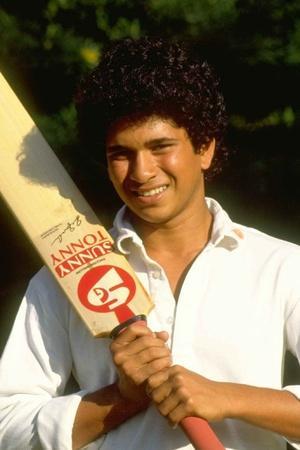 Sachin Tendulkar was 16 when he first played for India