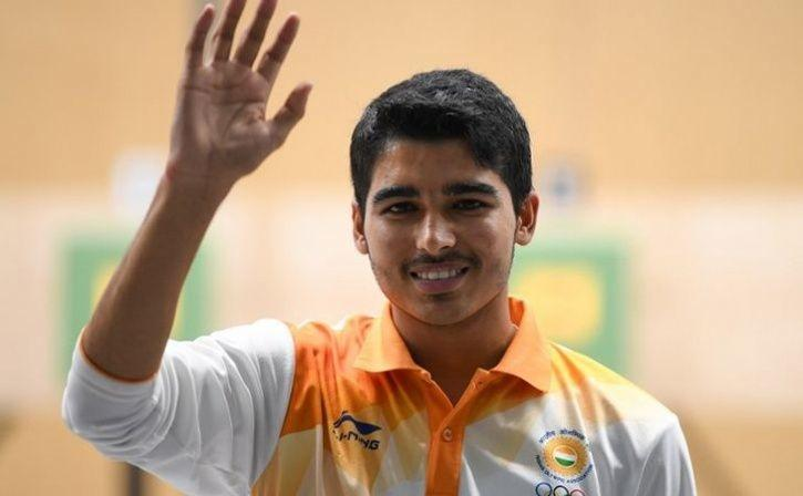 saurabh chaudhary claims gold at asian airgun championships