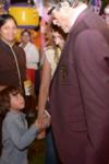 Shah Rukh Khans son AbRam thinks Amitabh Bachchan is his grandfather