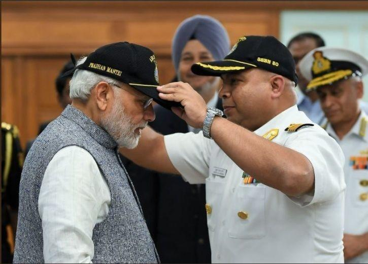 slayer of enemies, INS Arihant, deterrence, pm Modi, nuclear ballistic missile, crew, submarine