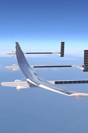 Solar Aircraft Boeing Odysseus Solar HALE UAV Satellites Surveillance Solar Flight Solar Ener