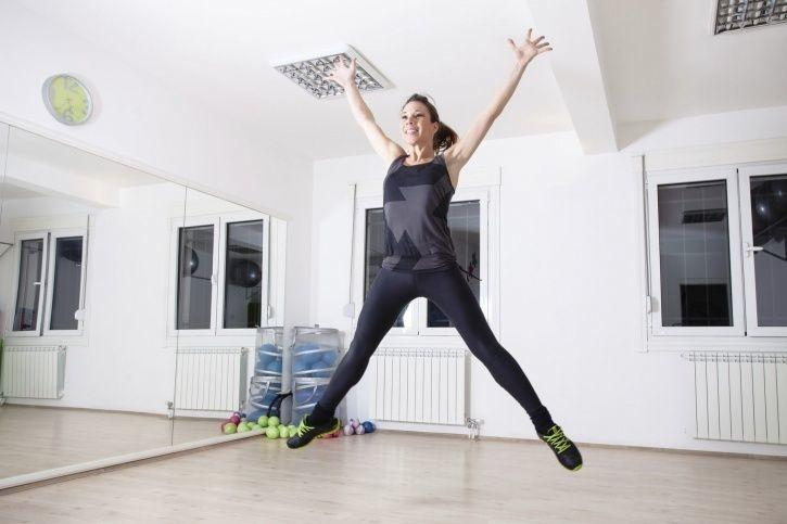 Image result for jumping jacks indoors
