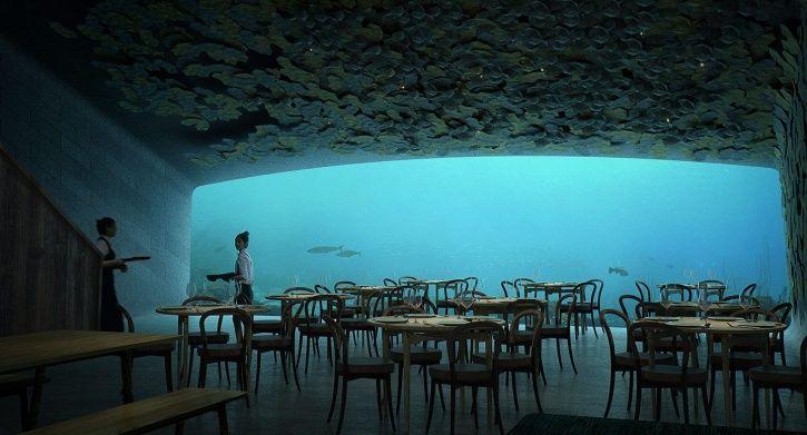 Under, underwater restaurant