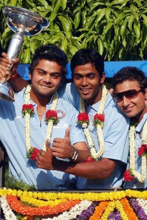 Virat Kohli led India to the U19 World Cup win
