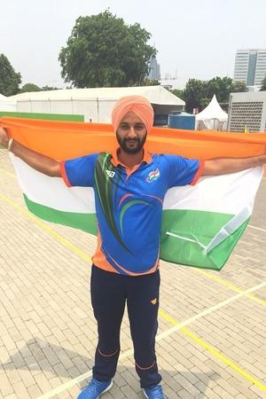 Archer Harvinder Singh Shoots Gold For India At Asian Para Games