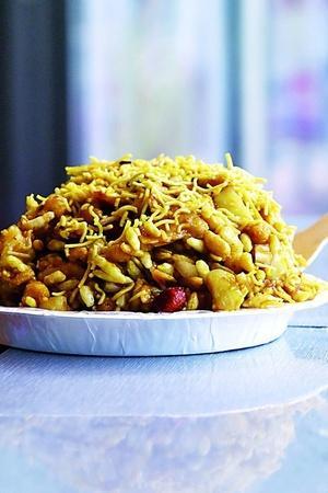 bhel puri snack evening